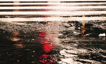 Bomba d'acqua durante la notte nel sud Milanese