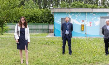 Peschiera, un murales green e un sistema di monitoraggio degli odori per la tutela dell'ambiente